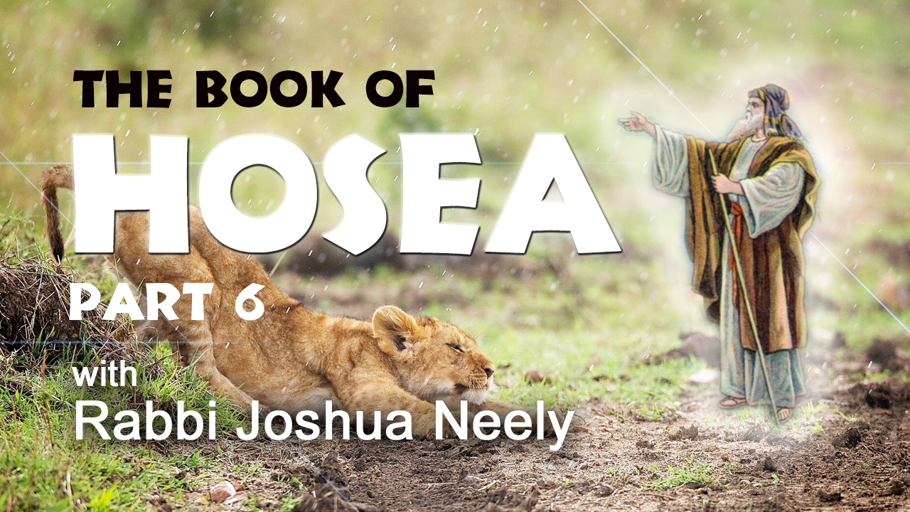 The Book of Hosea Show 6 with Rabbi Joshua Neely