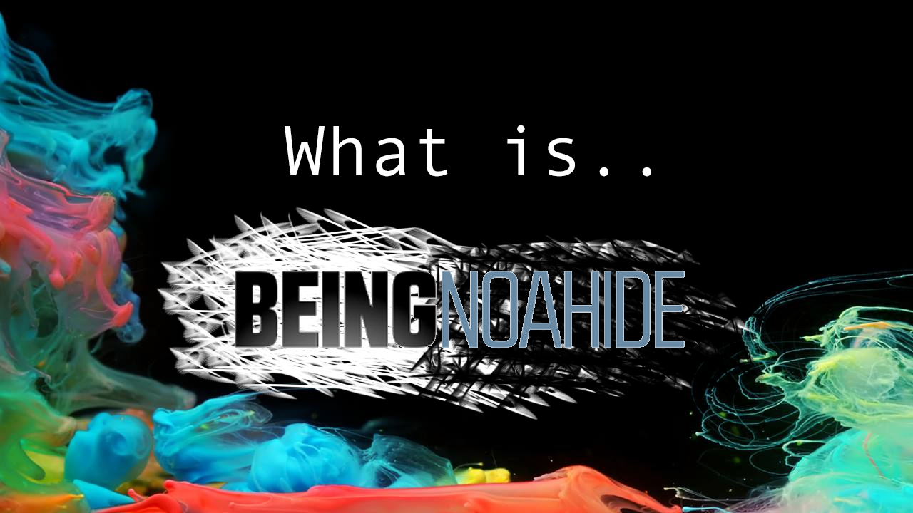 What is 'Being Noahide'? An interview with Jacob Scharff